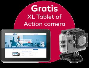 Gratis Tablet of Action Camera